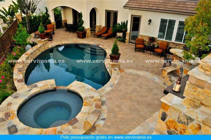 ¿Te gusta esta piscina? Visita http://www.servimania.es/ para pedir un presupuesto gratis.