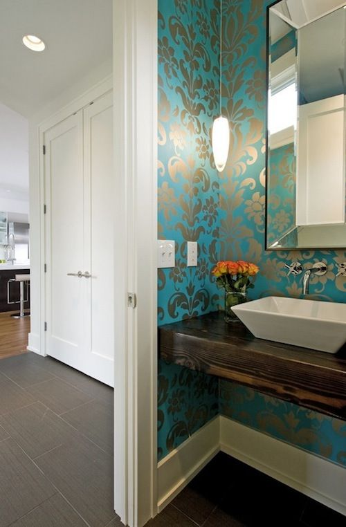 Tips In How To Choose Bold Wallpaper For Your Bathroom