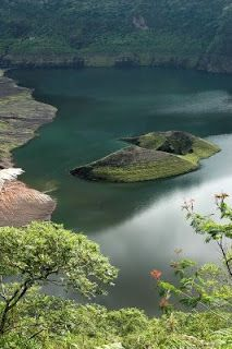 Galunggung's Crater, West Java