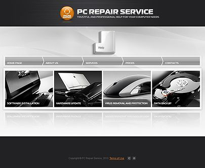 19 best Services website templates images on Pinterest | Website ...