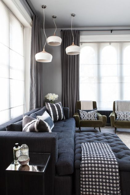 Contemporary Living Room by Simon Eldon Photography Ltd
