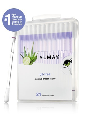 new oil-free makeup eraser sticks | almay.com