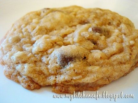 Oatmeal Chocolate Chip Cookies with Coconut