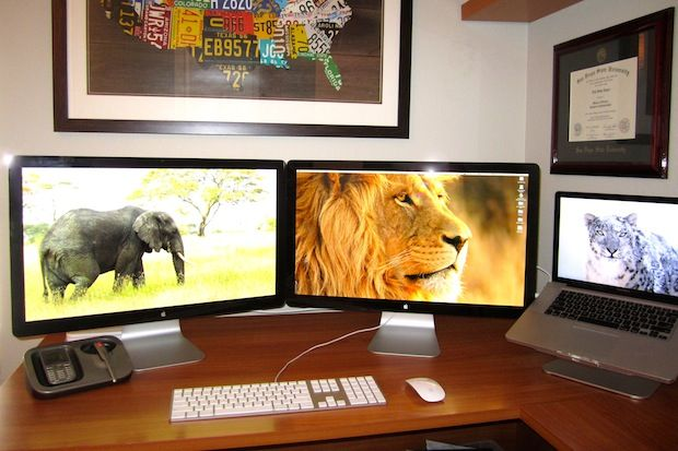 Mac Setups: The IBM Manager's Desk
