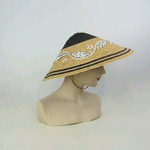 Coolie Hat: Vintage Coolie Hat