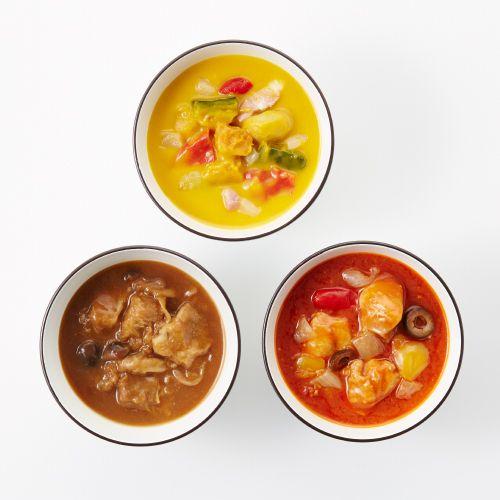 選べる3スープセット