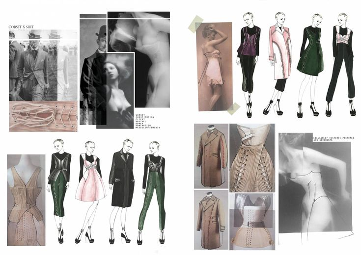 Fashion Sketchbook - fashion drawings; fashion design development; creative process; fashion portfolio // Amandine Piris