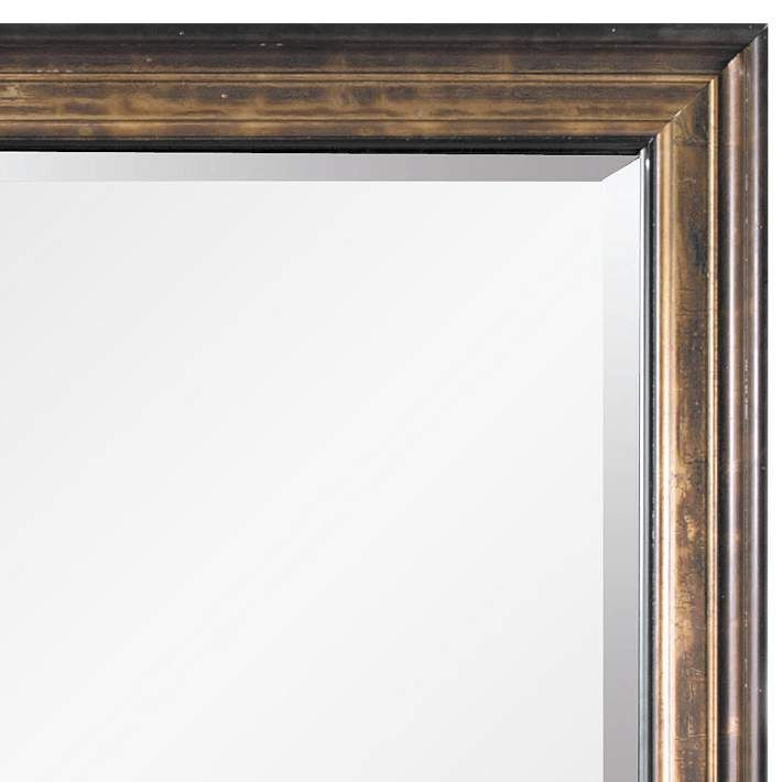 Beckett Antique Bronze 45 X 81 Oversized Floor Mirror 58k39