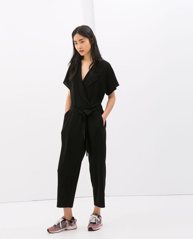 Image 1 of CROSSOVER JUMPSUIT from Zara