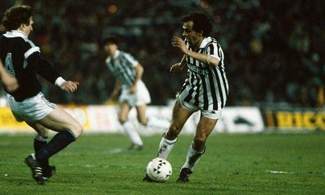 Michel Platini at Juventus-Bimabet888.com