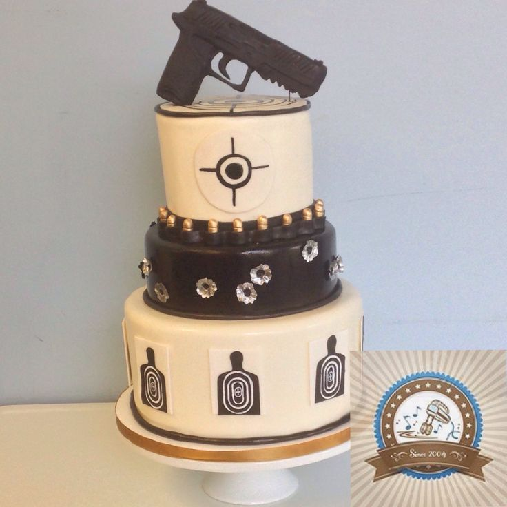 Best 25+ Gun cakes ideas on Pinterest Cake decorating ...