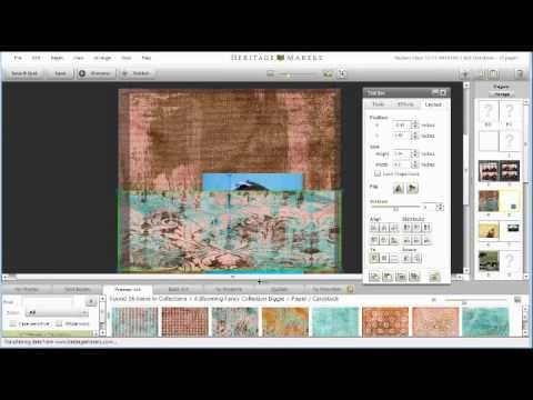 Heritage Makers Cropping Tutorial