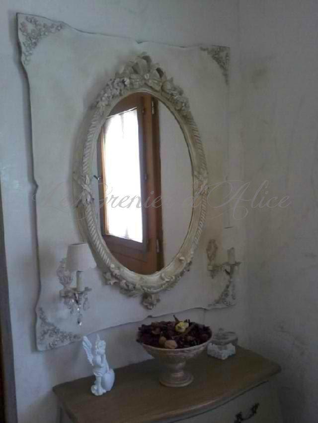 1000 id es sur le th me miroir ovale sur pinterest salle for Miroir moulure