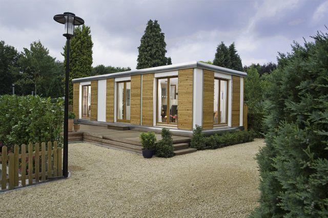 SmartHouse, Deutschland – Modulhäuser ab 21 qm. Module frei kombinierbar. Zu kaufen ab € 29.999 inkl. Mwst. SmartHouse: Holland 300.