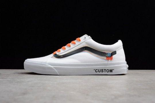 2910f28c1e5 Custom Off-White x Vans Old School White