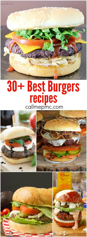 30+ Best New Burger Recipes: