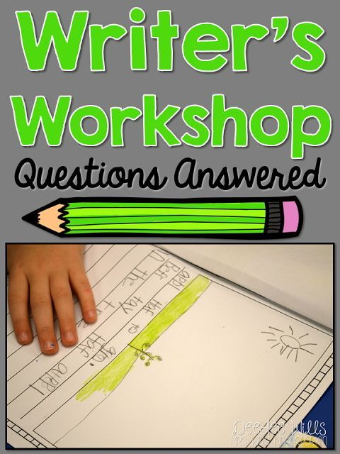 Emergent writing activities for grade r