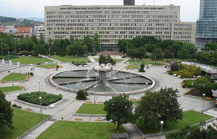 Ministry of Transport, Construction and Regional Development of the Slovak Republic and Freedom square ( namestie slobody )
