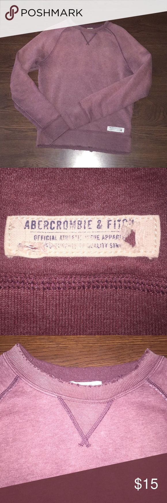 Abercrombie Men's Crewneck sweater. Abercrombie and Fitch Men's crewneck. Abercrombie & Fitch Sweaters Crewneck