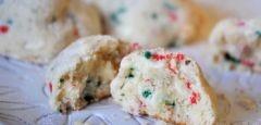 Holiday Swirl Snowall Cookies