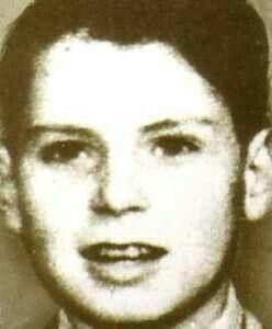 Dennis Nilsen as a boy.