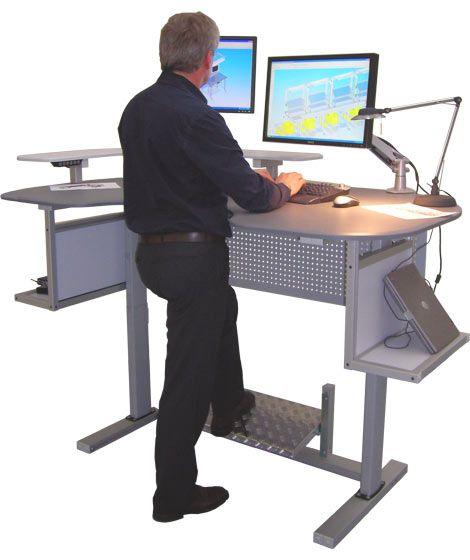 activDesk | electric height adjustable computer desks