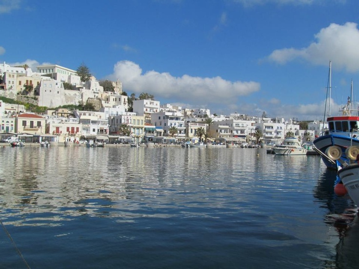 Naxos in March 2013.  Beautiful weather!