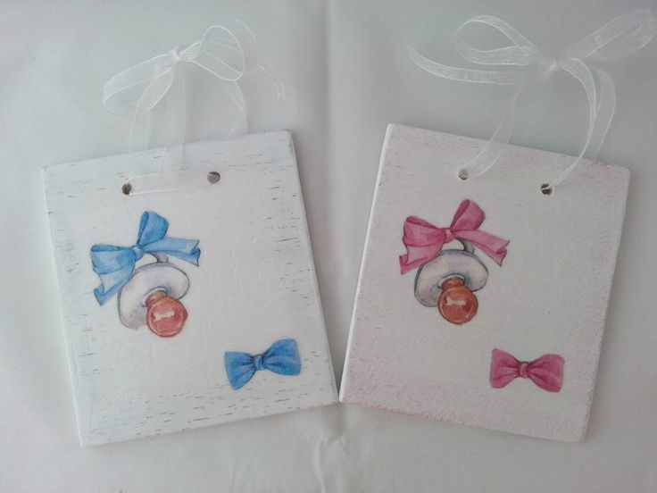 Shabby baptism favors and chest   Milk with Honey