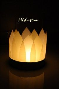 Candle holder -- all souls day