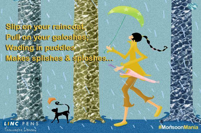 #MonsoonMania #raincoat #galoshe #puddle #rain
