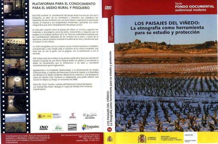 "O DVD ""Los paisajes del Viñedo: la etnografía como herramienta para su estudio y protección"" recolle diversa documentación gráfica sobre o congreso celebrado baixo este mesmo título en Nájera (A Rioja), entre os días 13 ao 15 de novembro de 2008."