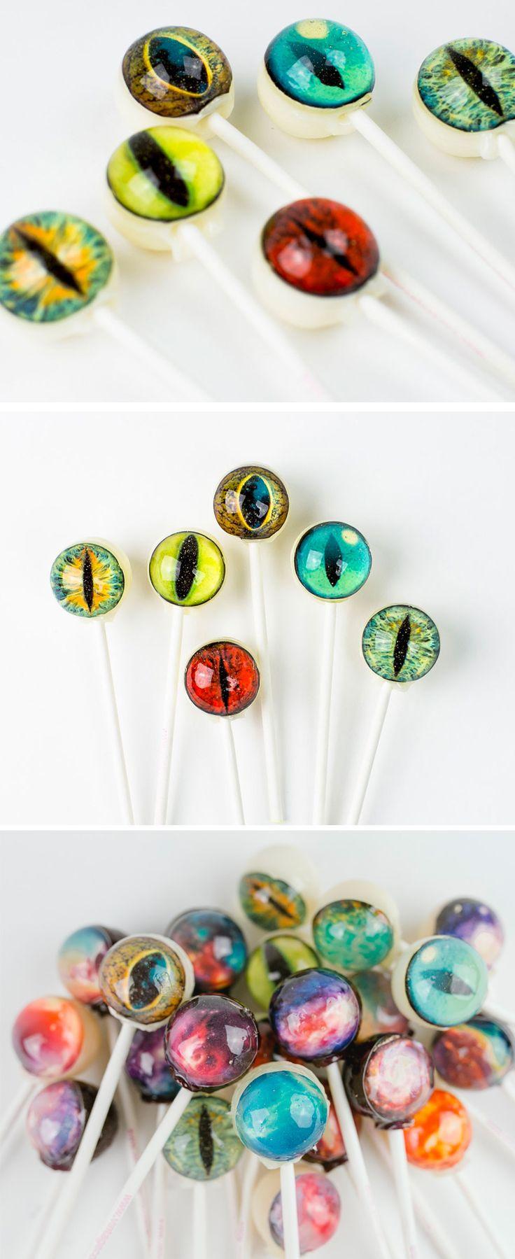 Creature Eye Lollipops