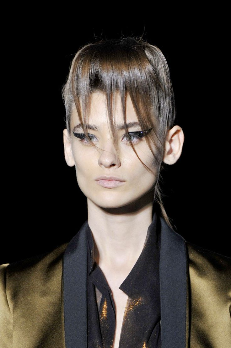 The Best Makeup Looks from Spring 2014: Drawn & Penciled Shapes