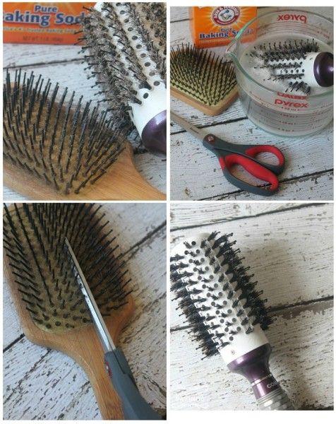 Щетка для волос как отмыть