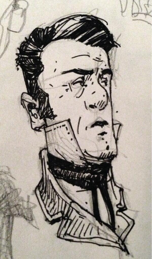 Little sketchbook geezer.
