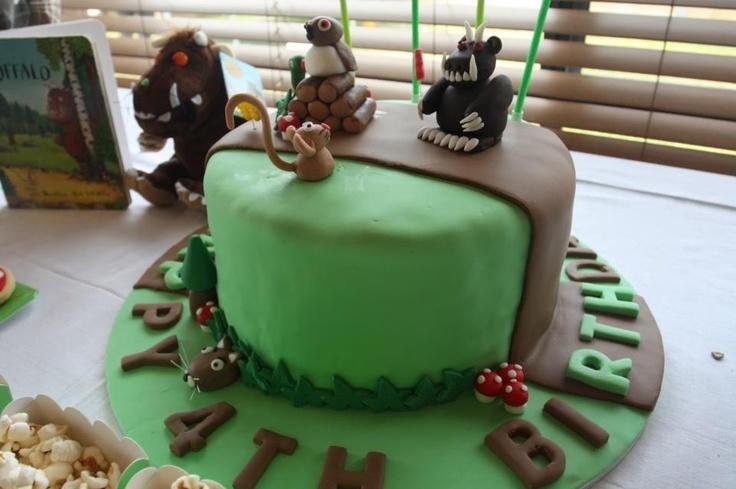 #gruffalo party #cake