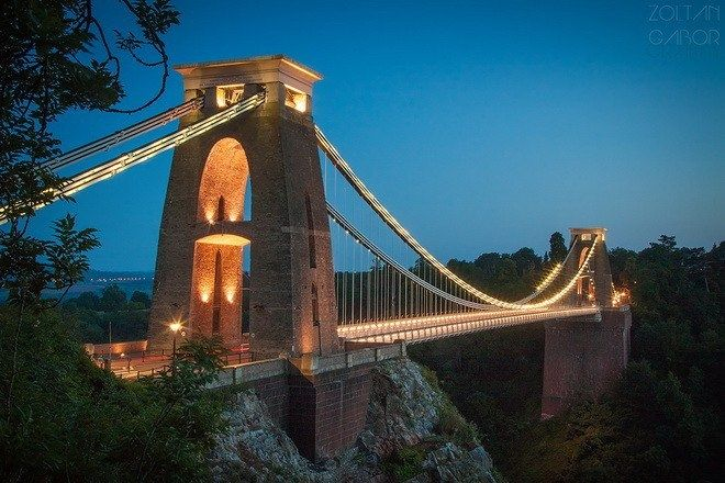 Клифтонский подвесной мост – символ английского города Бристоль - Путешествуем вместе