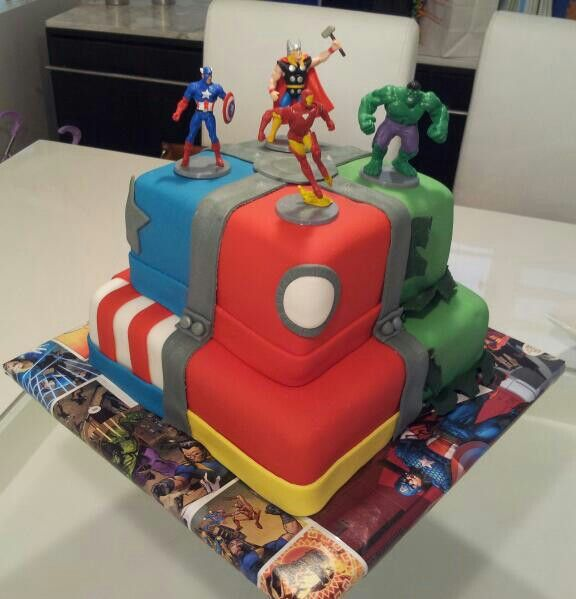 123 best Cakes Avengers images on Pinterest Avenger cake
