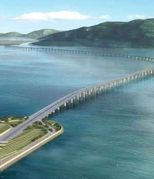 Le futur pont Hong Kong - Zhuhai - Macao