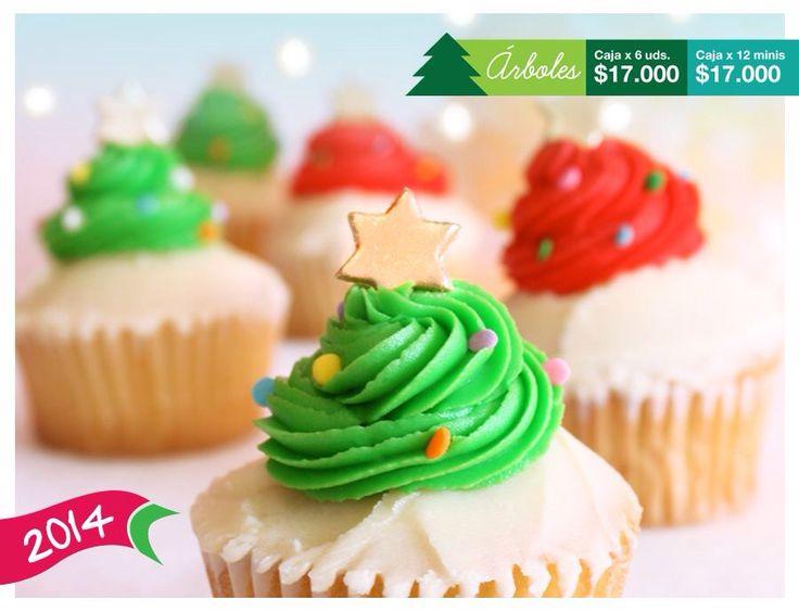 Arbolitos de navidad en Petit cake