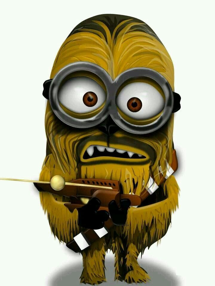 Chewbacca Minion