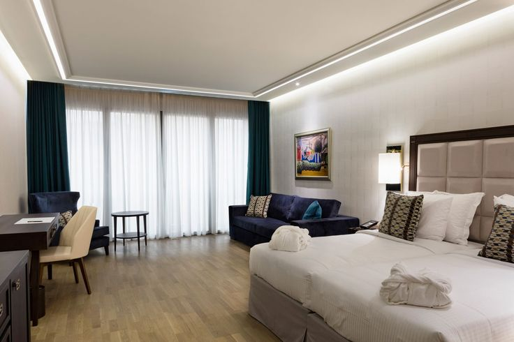 """Modern with a classical twist with 216 modernly equipped rooms and suites, """"Electra Metropolis"""" will offer you a personalized stay with a modern Greek hospitality approach, based on Electra Hotels & Resorts core values."""