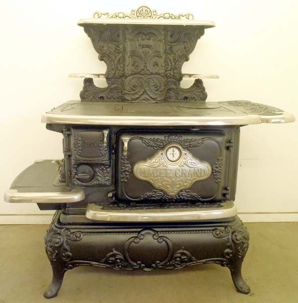 17 Best Images About Antique Stoves Brick Fireplaces On