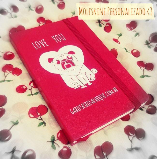 Olha que gracinha a caderneta que a Helena, do blog Garotas Rosa Choque fez com a gente!