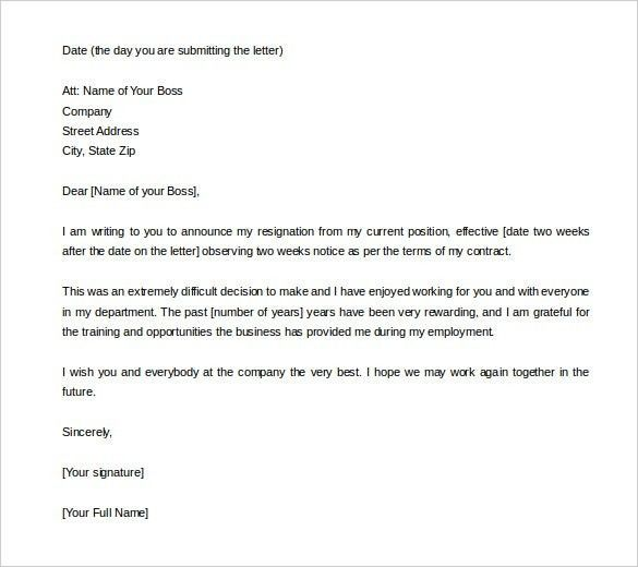 1 Week Notice Letter Template Word 1 Things You Probably Didn T Know About 1 Week Notice Let Letter Template Word Two Weeks Notice Letter Templates Free