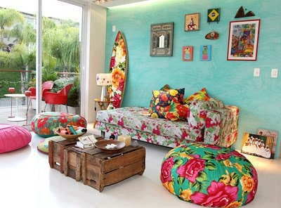 #livingroom colorful