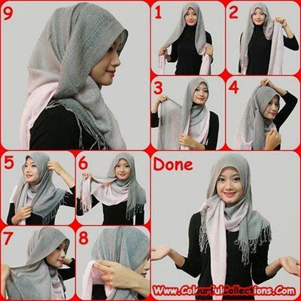 GoZiyan.Com: How to Wear a Hijab Fashionably [12 Tricks]