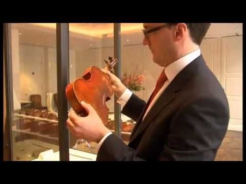 Stradivarius violin sells at $16 million record price