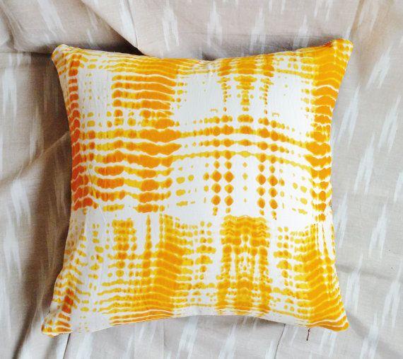 Dye Print Shibori By Pourhome On Etsy Printed Cushion