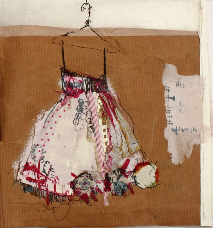 Sketch Book Page | Mixed Media | By: priscillajones | Flickr - Photo Sharing!